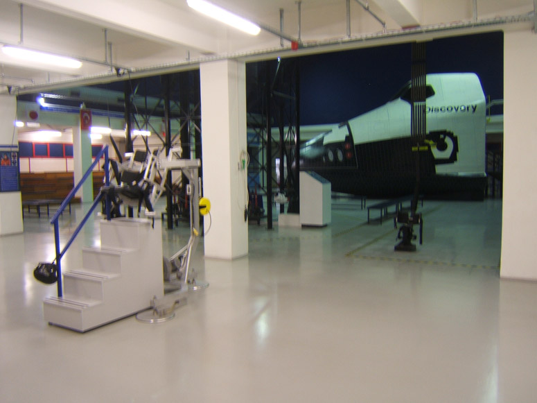 Training Center Floor – Space Camp Turkey