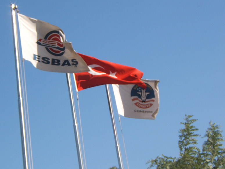 Flags Flying – Space Camp Turkey