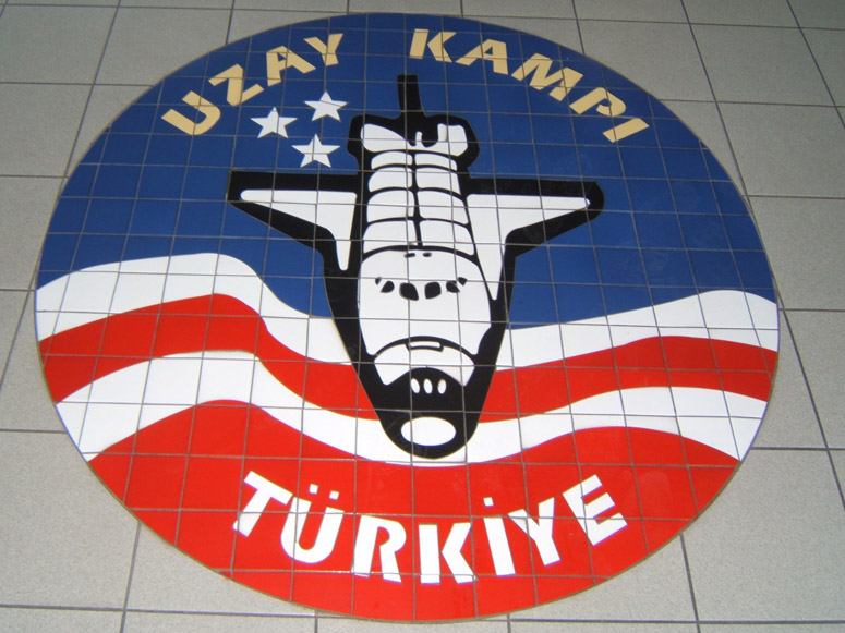 Tile Logo – Space Camp Turkey