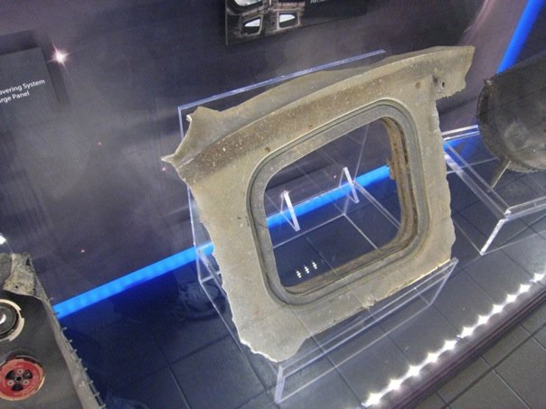 Columbia Artifact Display