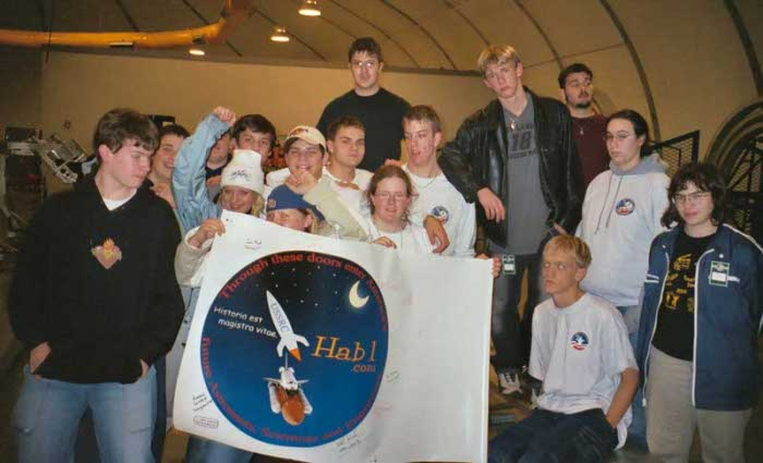 Group with Hab1 Poster