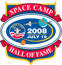 Space Camp Hall of Fame 2008 Logo