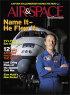 Hoot Gibson on the Cover of Air & Space Magazine