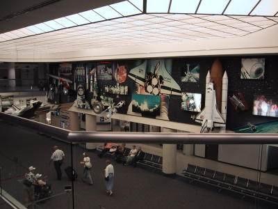 Huntsville Airport, May 2002
