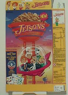 Jetson's Cereal Box
