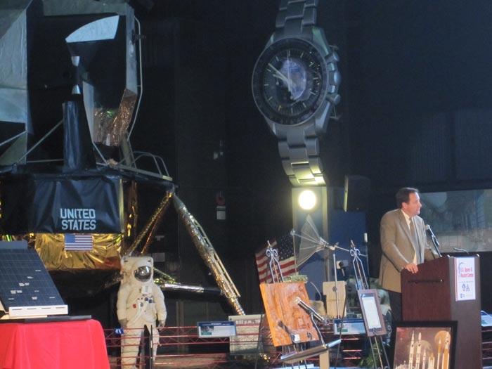 Robert Lightfoot Speaks at Space Exploration Celebration 2010