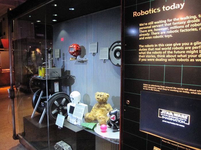 Robotics Today Display