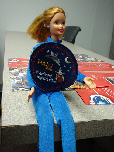 Space Camp Barbie with Hab1 Patch