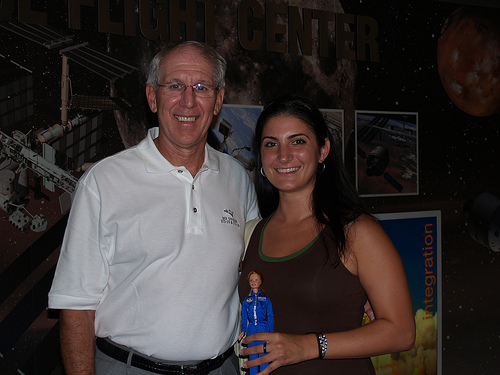 Space Camp Barbie with Bob Springer