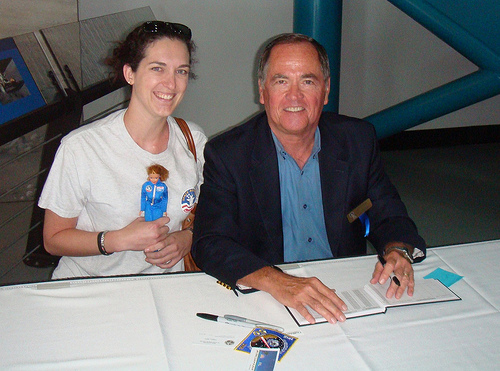 Space Camp Barbie with Robert Crippen