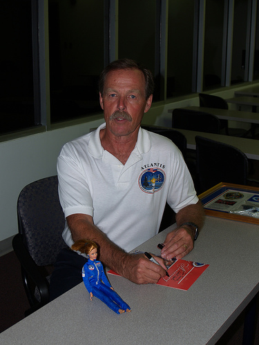 Space Camp Barbie with Hoot Gibson
