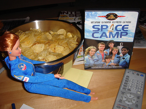 Space Camp Barbie with SpaceCamp DVD