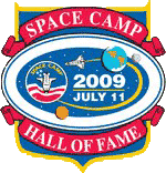 Space Camp Hall of Fame 2009 Logo