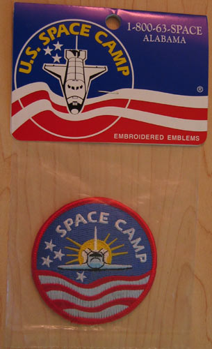 Space Camp Movie Patch