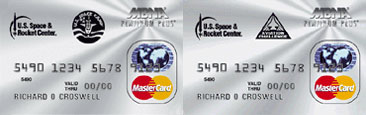 Space Camp and AC Credit Cards