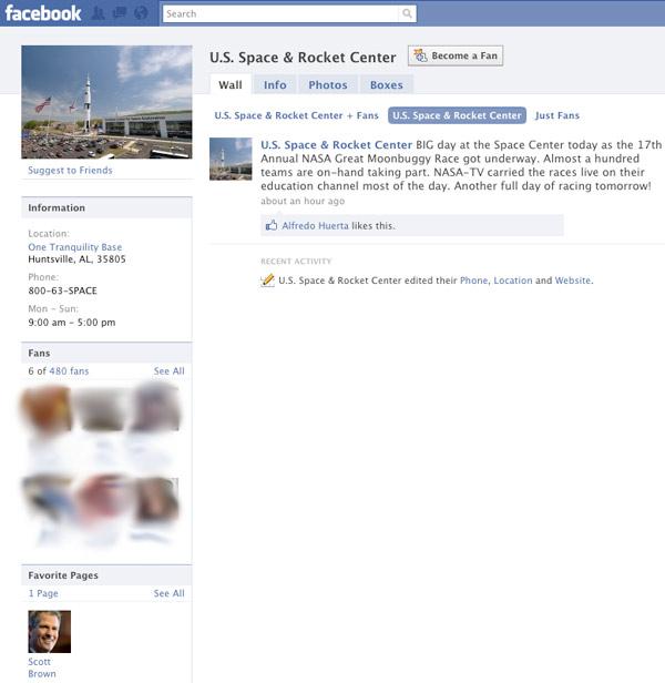 USSRC Facebook Fan Page