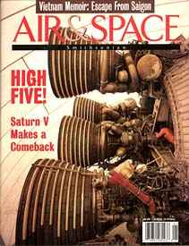 December 1996 / January 1997 cover of Air & Space Magazine