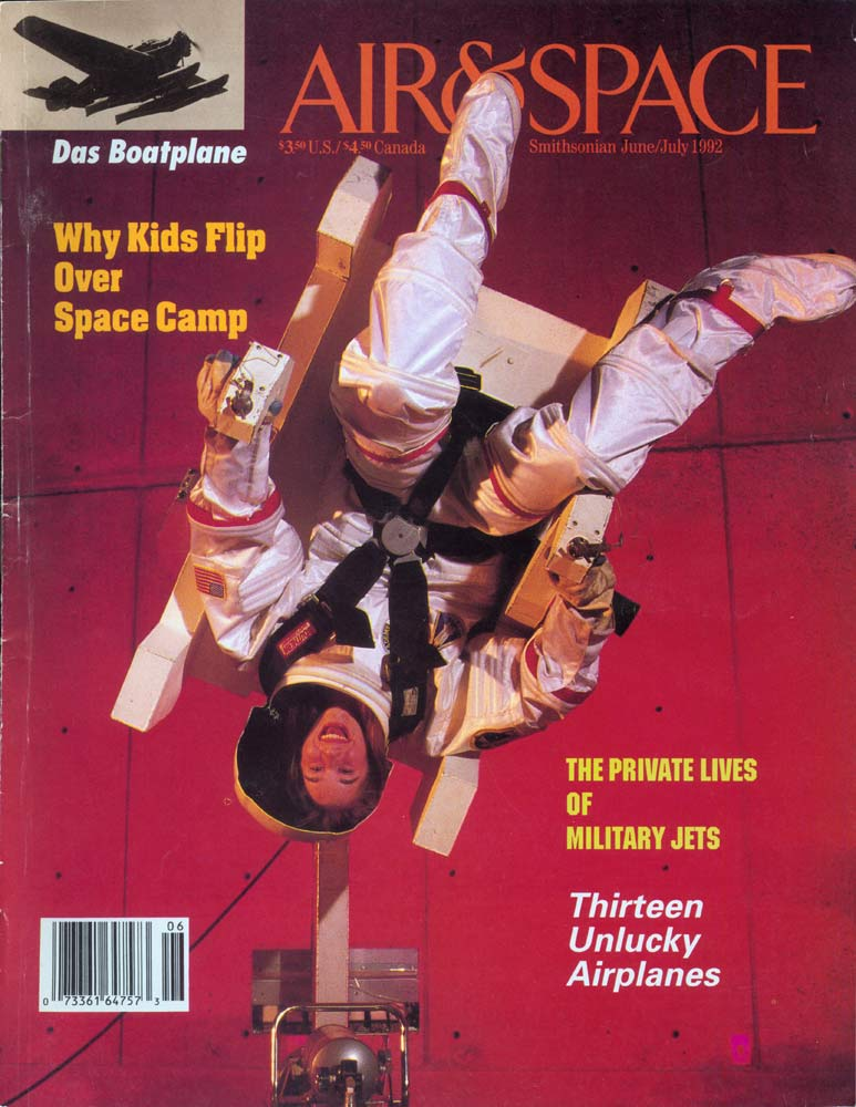 Air & Space Magazine - June-July 1992 - Cover