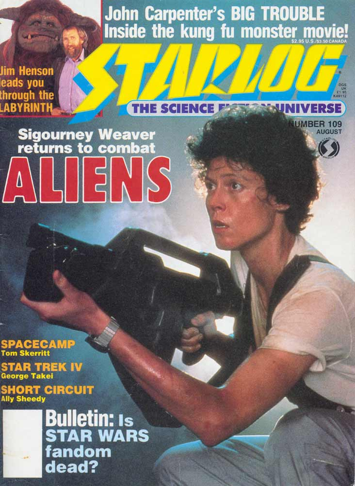 Starlog - August 1986 - Cover