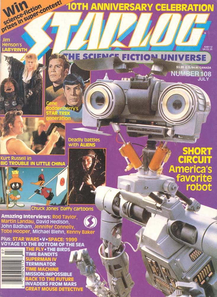 Starlog - July 1986 - Cover