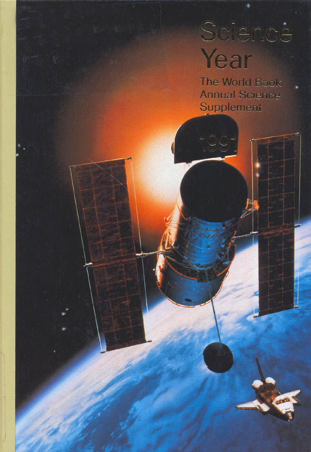 Science Year 1991 - Cover