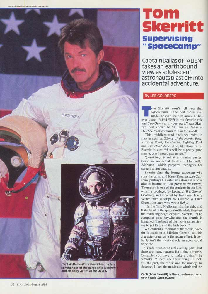 Starlog - August 1986 - Page 1