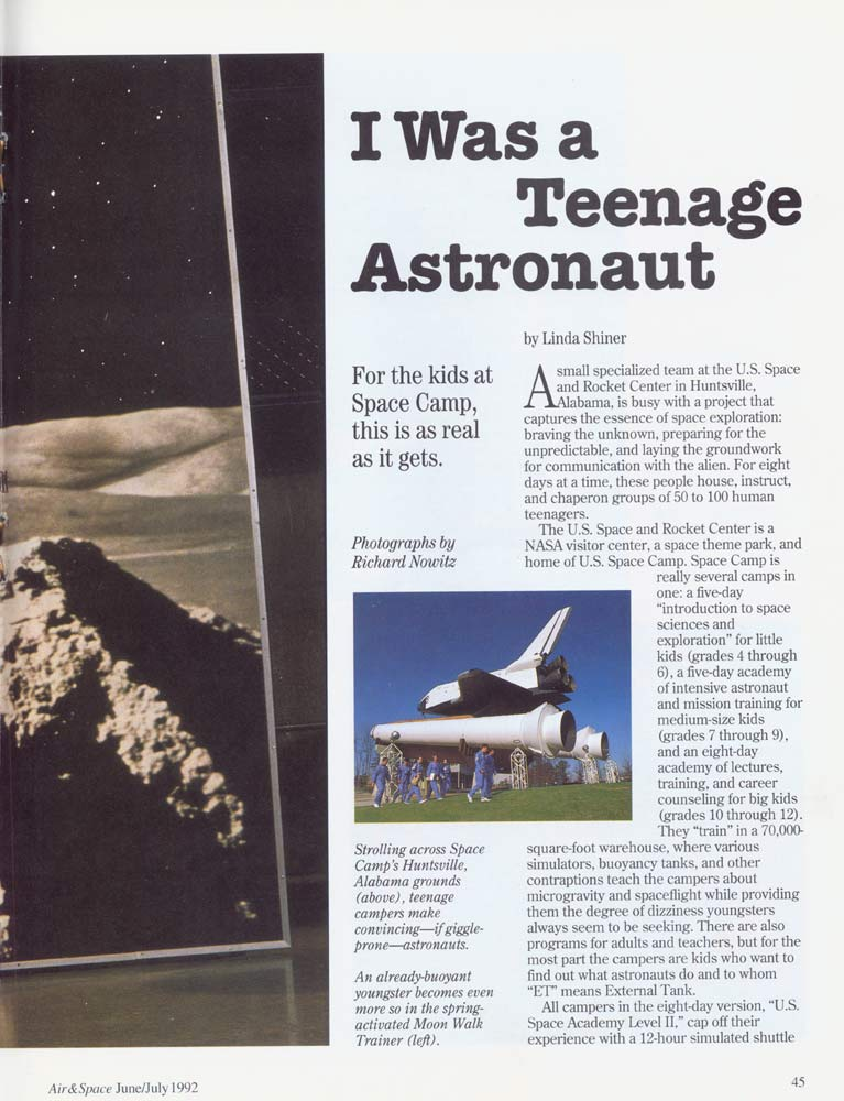 Air & Space Magazine - June-July 1992 - Page 2