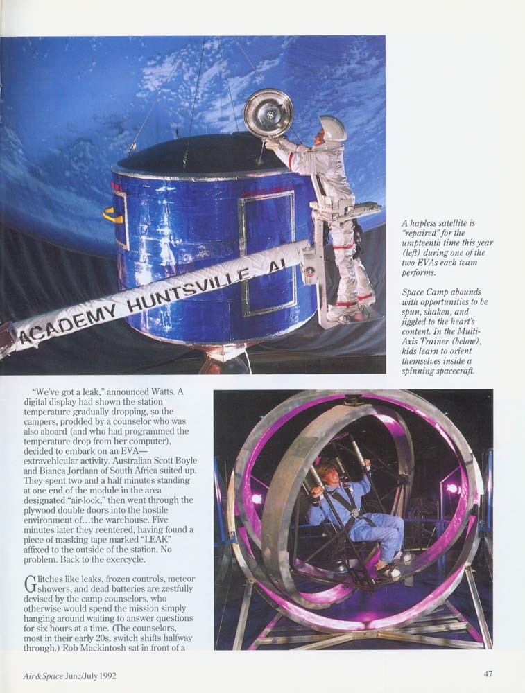 Air & Space Magazine - June-July 1992 - Page 4