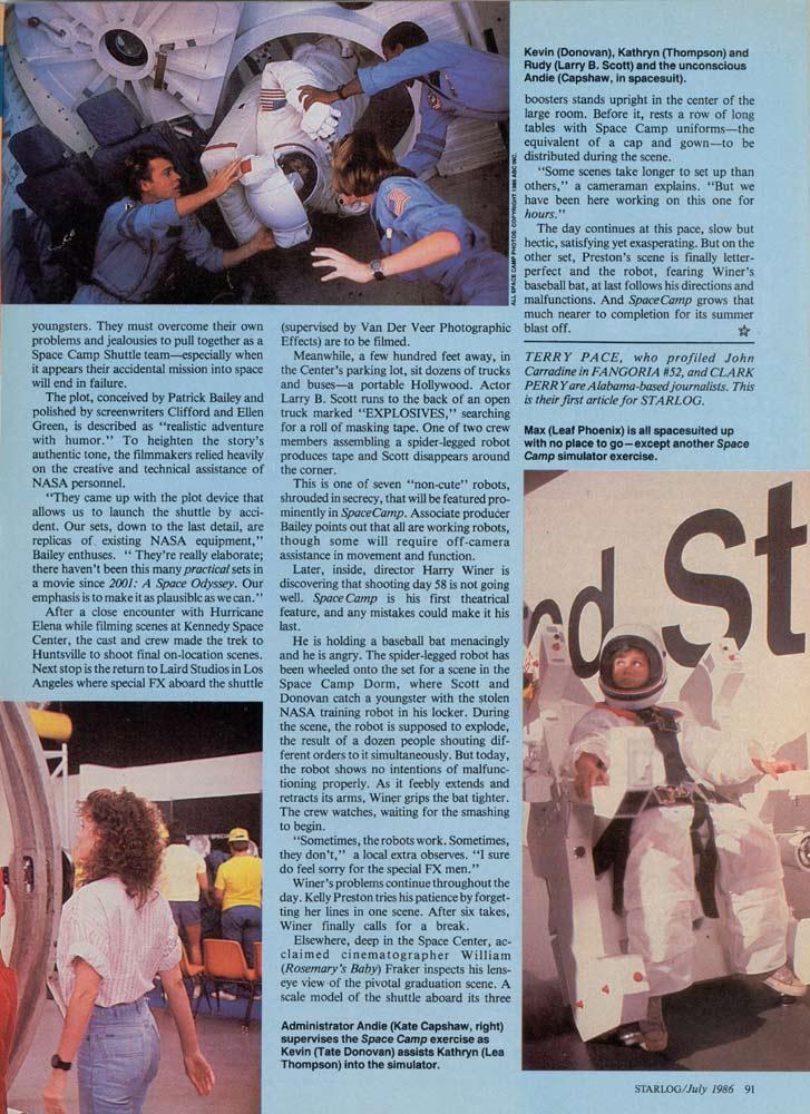 Starlog - July 1986 - Page 4