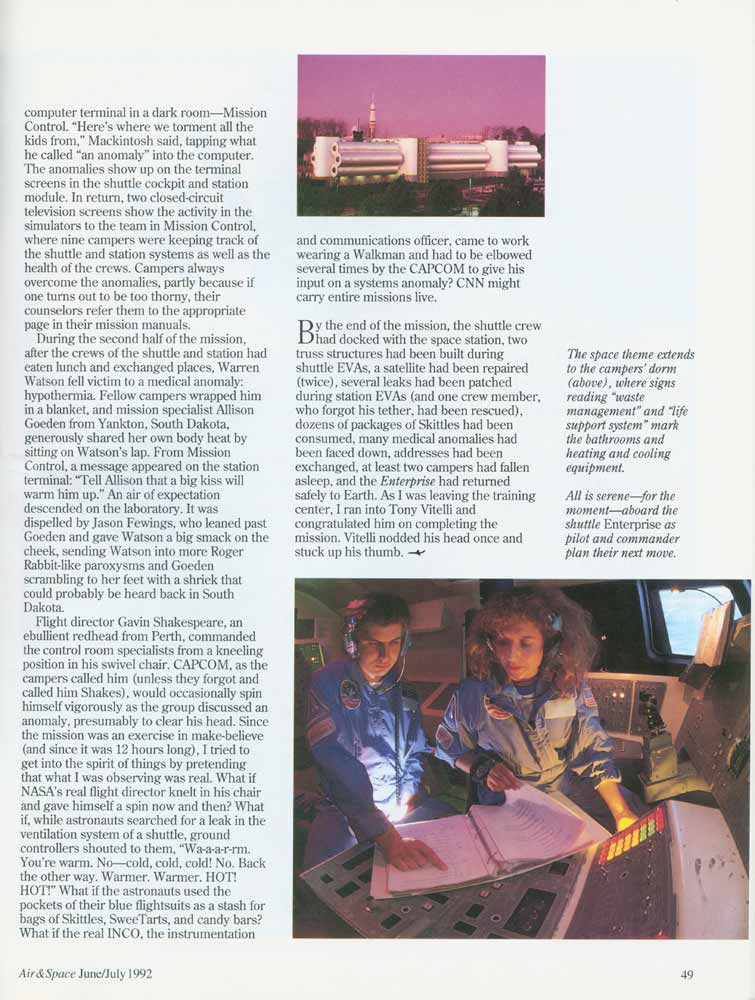 Air & Space Magazine - June-July 1992 - Page 6
