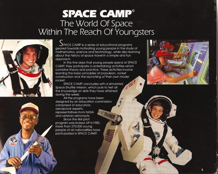 International Space Camp Franchise Book - Page 05