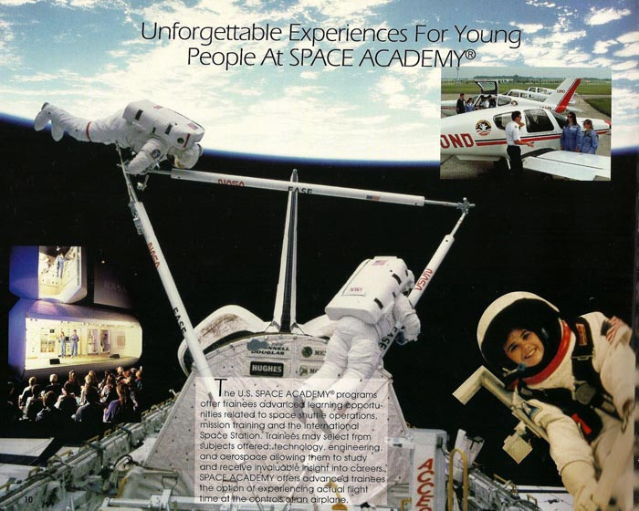 International Space Camp Franchise Book - Page 10
