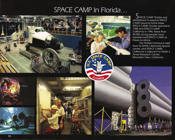 International Space Camp Franchise Book - Page 12