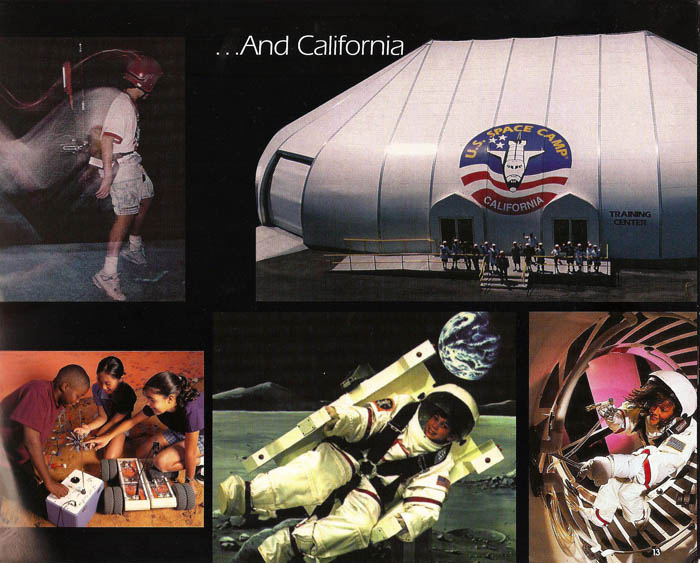 International Space Camp Franchise Book - Page 13
