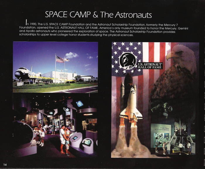 International Space Camp Franchise Book - Page 14