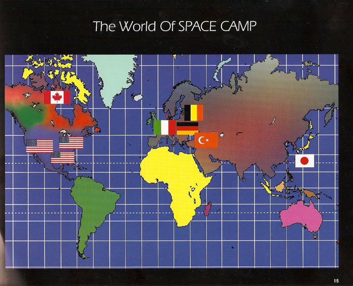 International Space Camp Franchise Book - Page 15