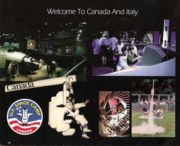 International Space Camp Franchise Book - Page 18