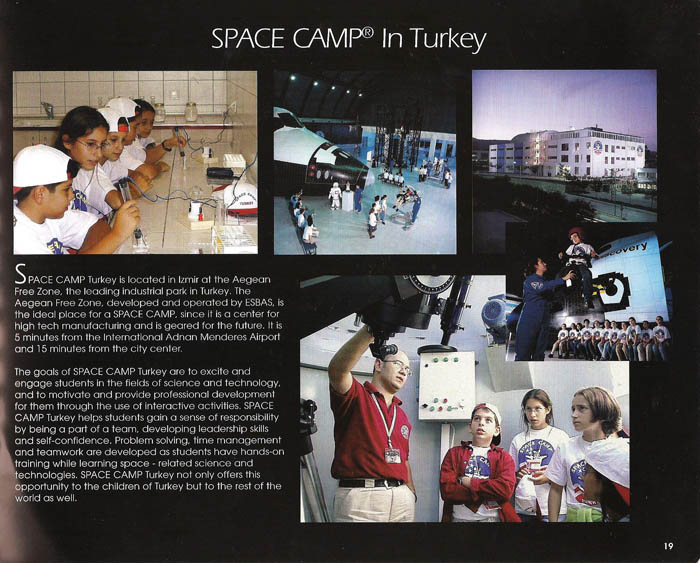 International Space Camp Franchise Book - Page 19