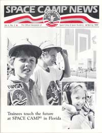 Space Camp News - Spring 1988 - Thumbnail