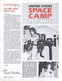 Space Camp News - Winter 1985 - Thumbnail