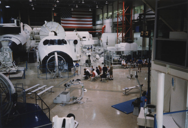 Training Center Floor circa 1999