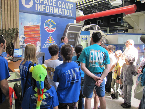Tour Group Meeting for Space Camp Tour