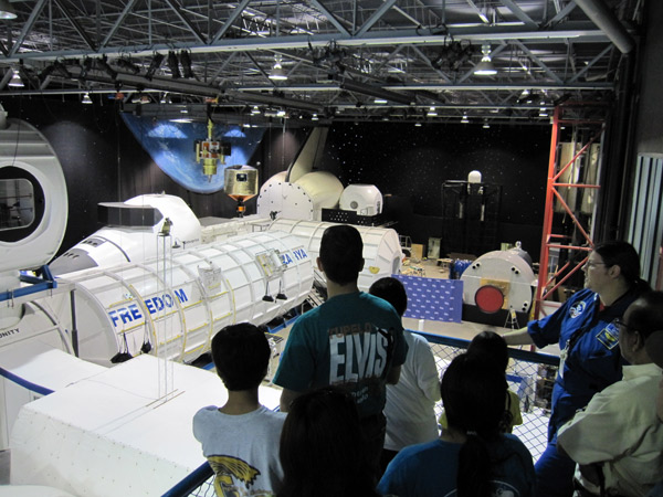 View of the MCC from the UAT on the Space Camp Tour