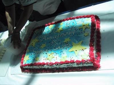 20th Anniversary Cake for Visitors