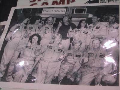 Christa McAuliffe at Space Camp