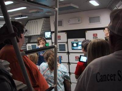 20th Anniversary Tour of Space Camp - Intrepid Middeck