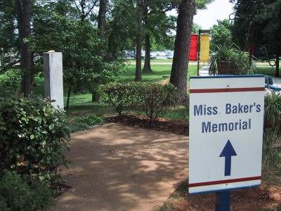 Miss Baker's Grave, May 26, 2002