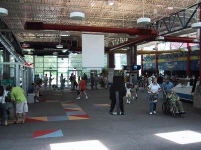 USSRC Lobby, May 2002