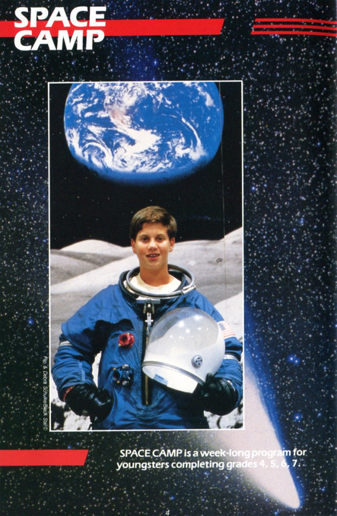 1988 Space Camp Brochure - Page 4