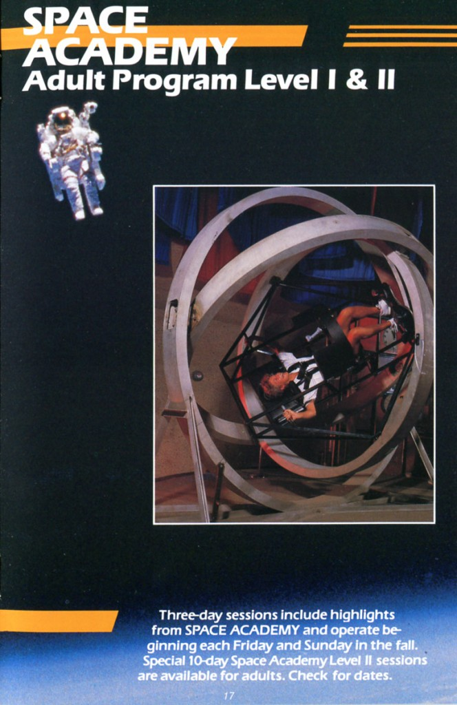1988 Space Camp Brochure - Page 17